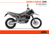 2006 Super Enduro Owner's Manual