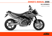 2006 950 Supermoto Owner's Manual