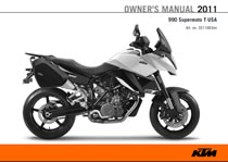 2011 supermoto T owners manual